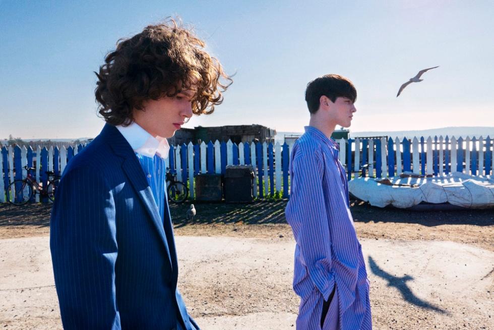 """Serge Leblon photographs """"Eaux Pures"""" for Numero Homme, Spring/Summer 2015"""
