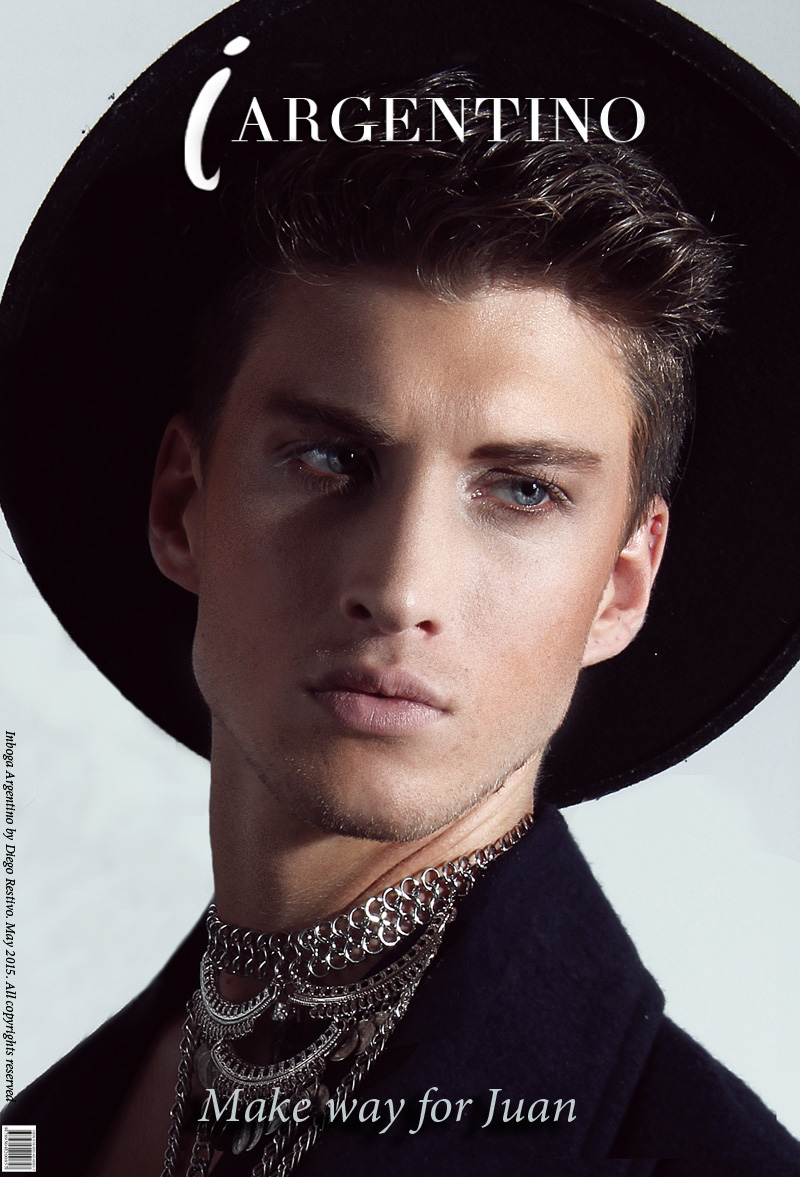 Model Juan Manuel Oubina at DHR Models by Diego Restivo for Inboga Mag