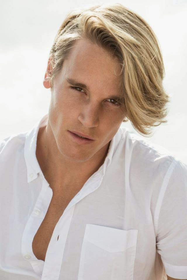 Blond bombshell Trevor Van Uden at 'Soul Artist' builds up his portfolio with a stunning session by photographer Dylan James.