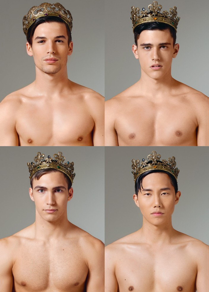Crowns have long been a heraldic symbol of royalty, courage and power and along with the industrious, loyal and kind icon of the bee, these two emblems have been unified and adopted as a leitmotif of the Dolce&Gabbana in the Fall Winter 2015-16 menswear collection. #DGmen Discover the collection http://bit.ly/1eFAYCj