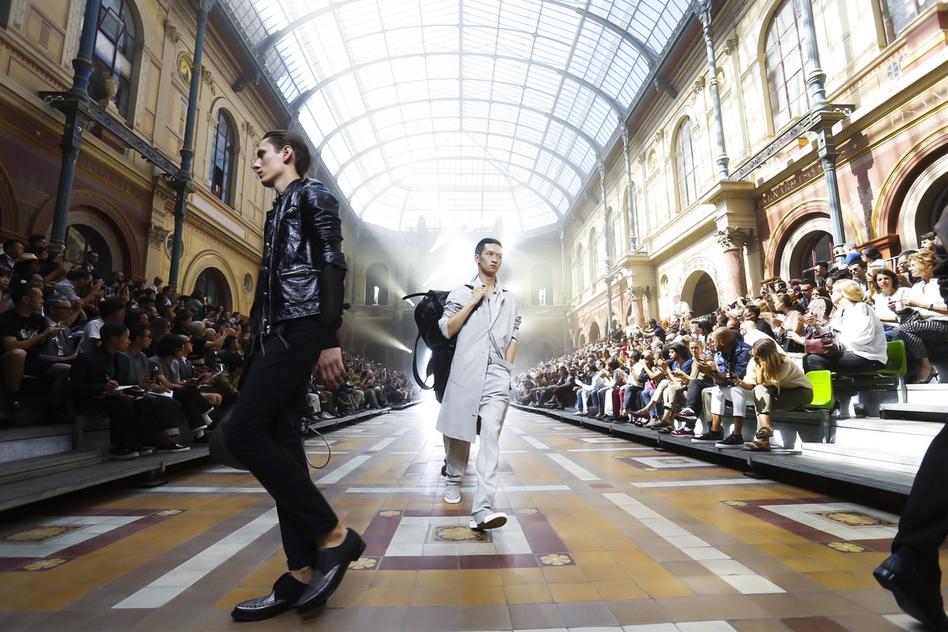Lanvin Collection Spring Summer 2016 Menswear in Paris
