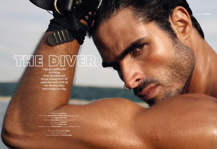 Juan Betancourt for Elle Man Vietnam July 2015