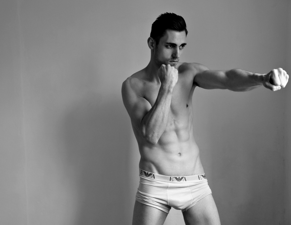 Presenting up and coming promising model Juan Lopez shot by Nick Andrews