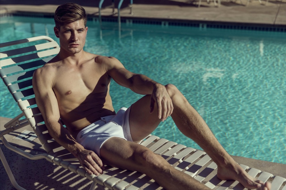 Introducing beauty male model Maximilian Bourne in some fresh new images taken by Thomas Ingersoll.