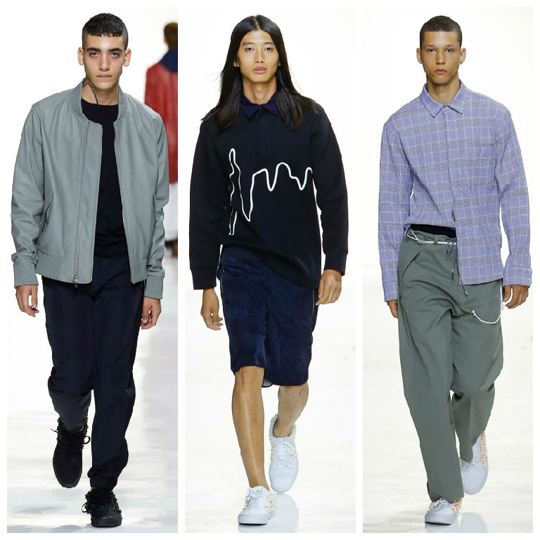 Tim Coppens Spring/Summer 2016 New York unveils a new fresh Menswear collection.