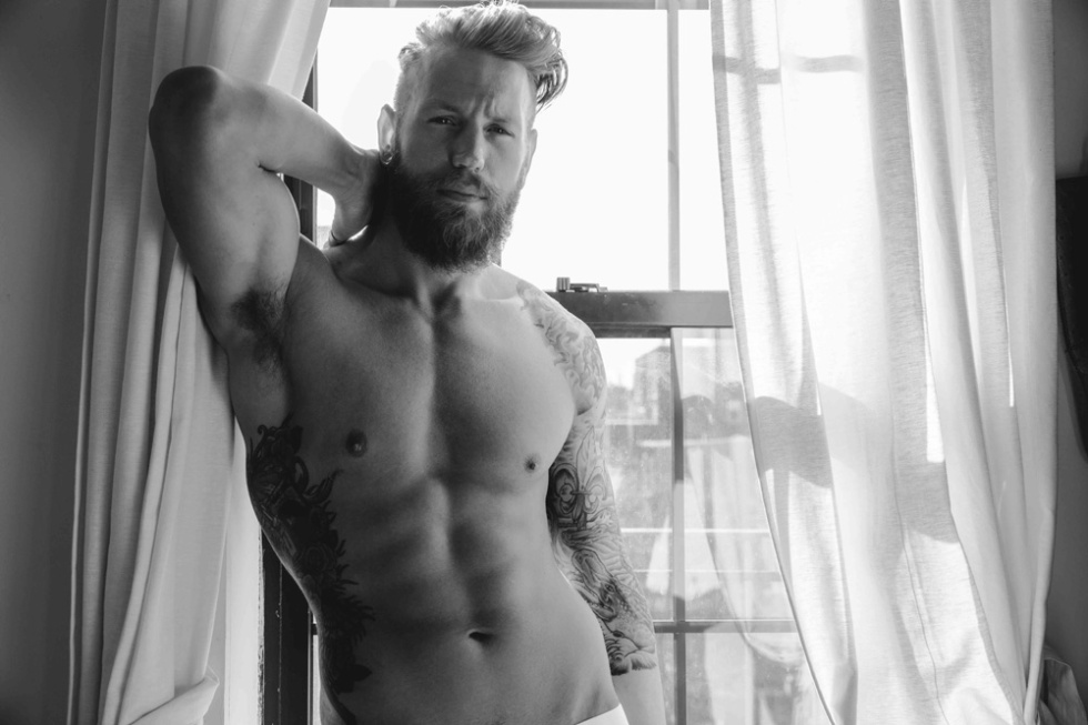 Everything about Adam Sperandio by Katie Levine is phenomenal, beautiful toned body, masculine looks, sexy hazed eyes. We want some more!