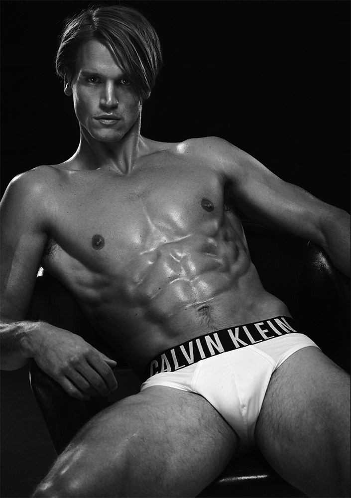 """Intense Power"" a photographer by Arnaldo Anaya-Lucca with stunning male models Austin Scoggin, Christian Hogue, Eian Scully, Trevor van Uden and Tyler Maher all at Soul Artist Management. Grooming by Scott McMahan at Kate Ryan Inc. for Tom Ford Men. Photography Assistants Zach Zannini and Jordan Strong. Digital Capture Patrick Kline at Versatile Studios. All Underwear provided by Intense Power by Calvin Klein."