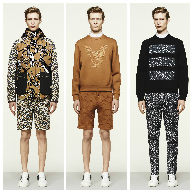 Life in the American desert establishes the setting for Markus Lupfer menswear spring / summer 2016. Creating a warm palette, the dry climate and sophisticated colours of the prairie pave the way for the deconstructed and de-fringed cowboy.