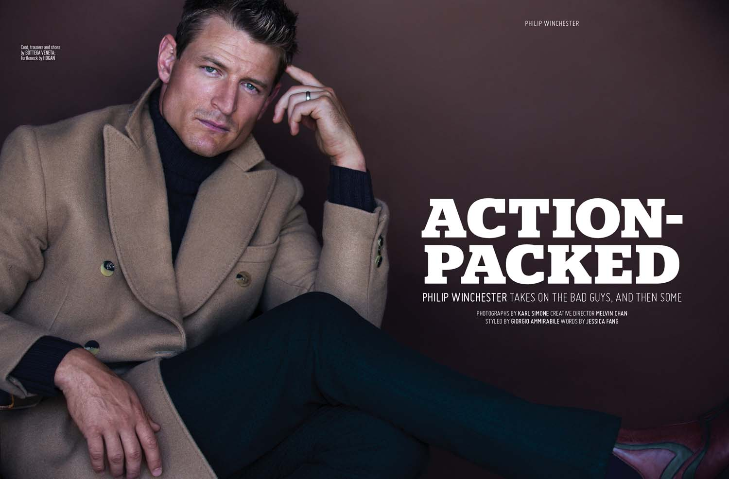 philip winchester new show