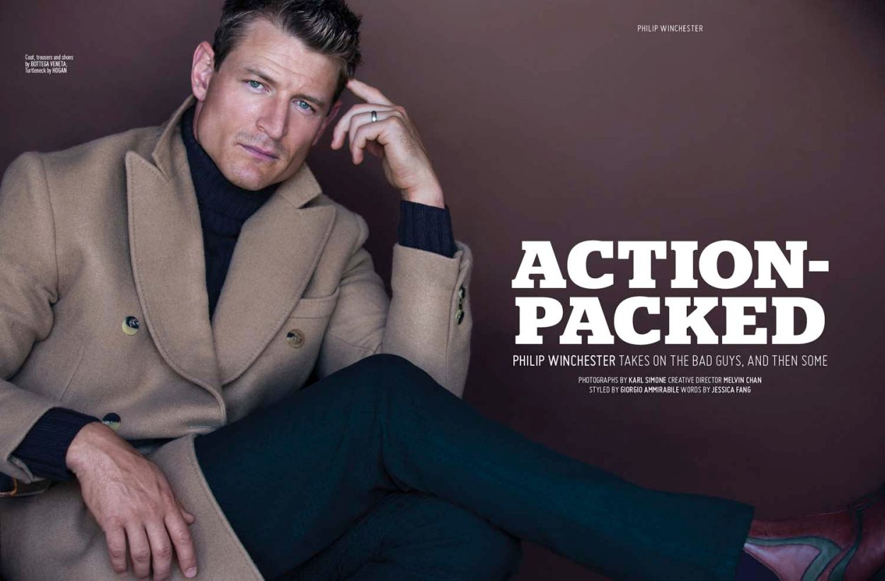 Photographed by talented Karl Simone for August Man Malaysia, styled by Giorgio Ammirabile, featuring American actor known for Strike Back (2010), Flyboys (2006) and In My Sleep (2010). Creative Director by Melvin Chan and you can see in the currently issue an interesting exclusive interview.