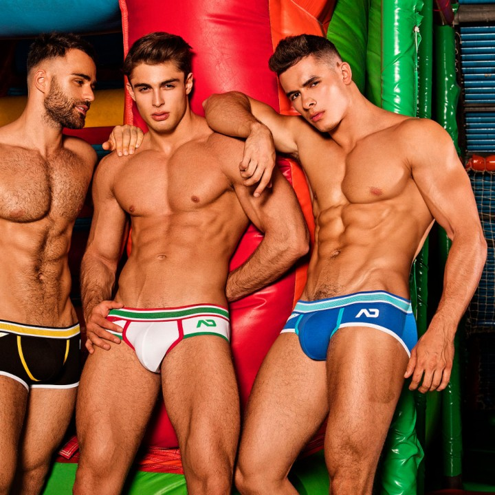 the new Autumn/Winter ADDICTED Bubbly Underwear collection at VOCLA. The new collection features some new fabrics with most of the style being made with polyamide to give a figure-hugging fit, mixed with some spandex for great stretch.