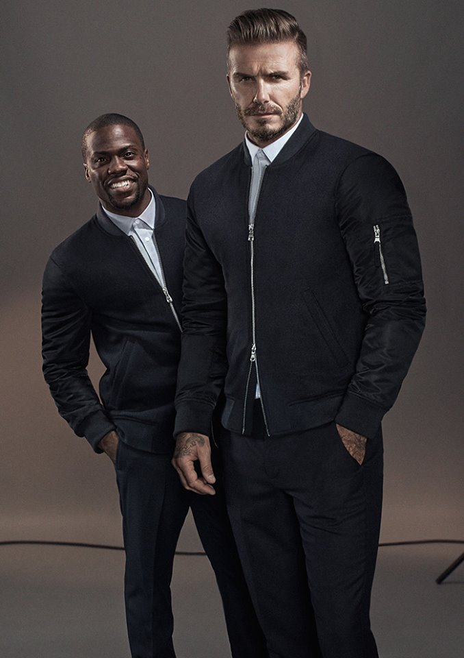 David Beckham and Kevin Hart star in new H&M F/W 2015 Campaign