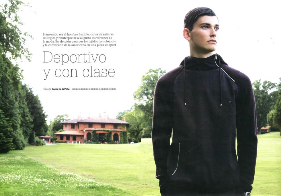 Código Único #41 October 2015 Deportivo y con Clase Photographer: Noemi de la Peña.
