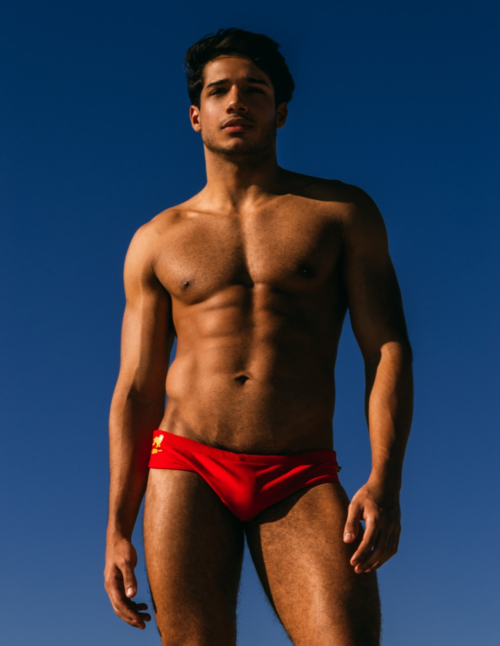 Introducing Brazilian new comer with fit body Igor Costa snapped by Beto Urbina.