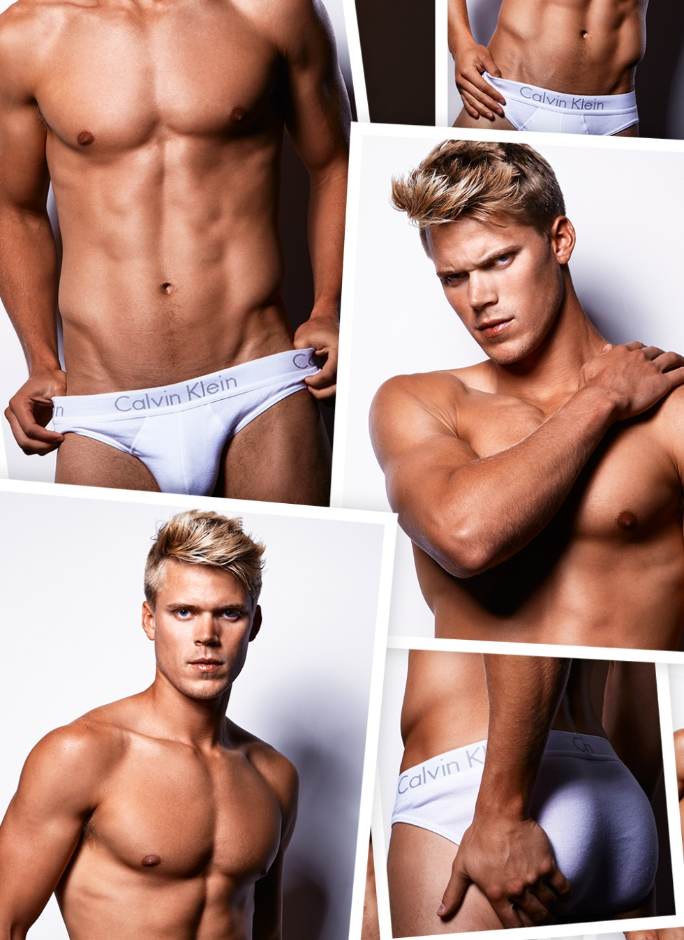 Featuring handsome newcomer model Jordan Hagel shots by Kiet Thai