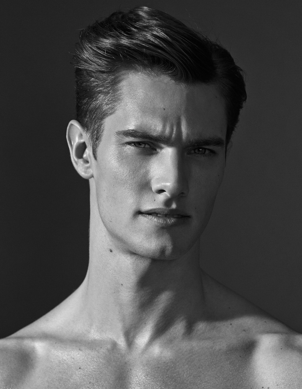... male model <b>Marcus Hedbrandh</b> possess an athletic figure and perfect face ... - marcus-hedbrandh-by-martin-petersson932
