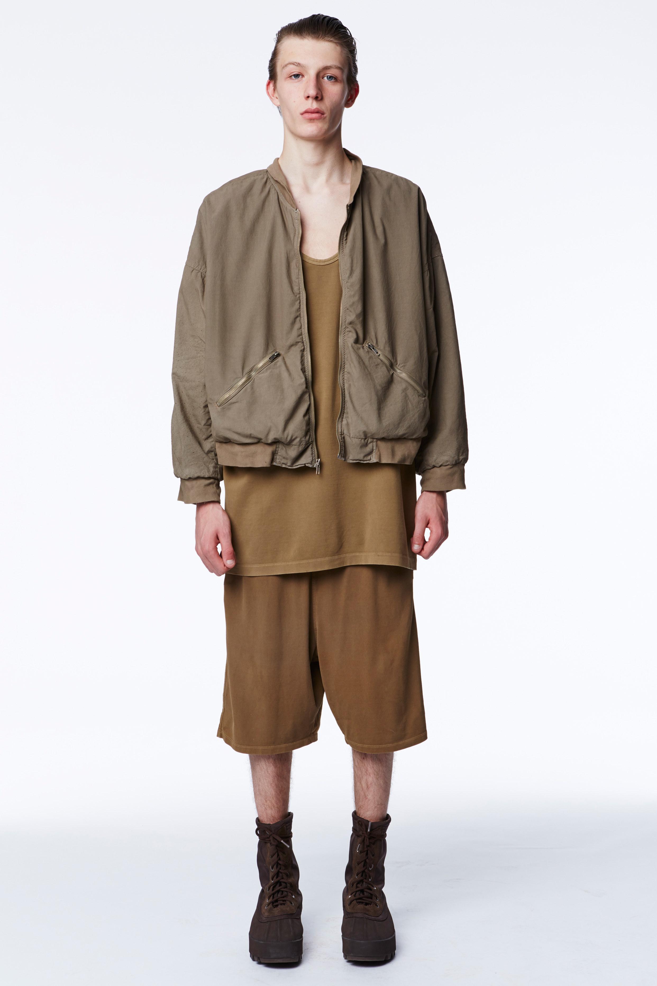 Kanye West X Adidas Originals Rtw Spring 2016 Fashionably Male