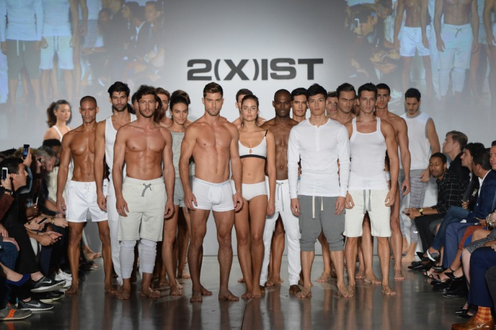 2(x)ist spring/summer 2016 collection.