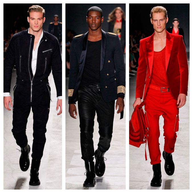 Balmain x H&M Debuts With New York Runway Show597_Fotor_Collage