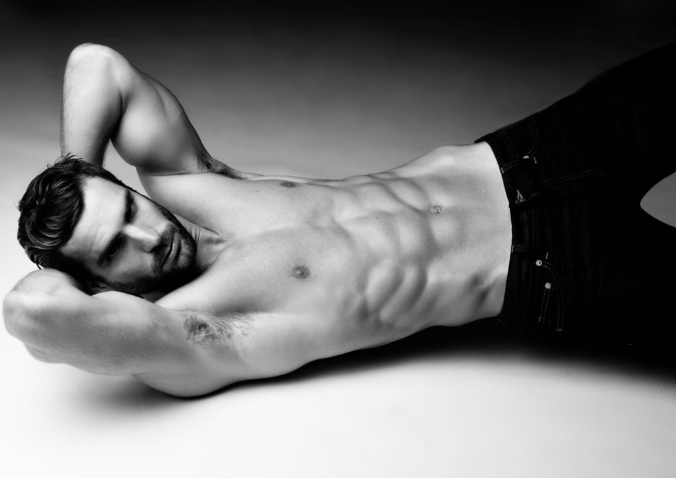 Male Model Marcus Santos at Wilhelmina Models by photographer Carlos Velez