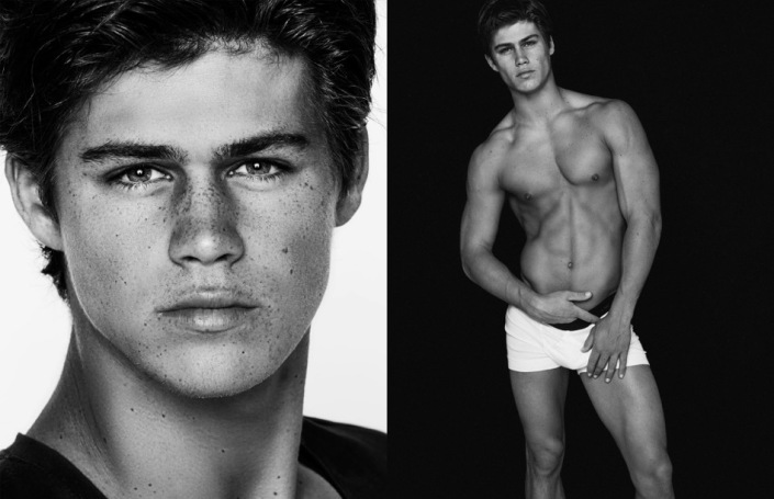 Jaw dropping images by photographer Blake Ballard featuring Chosen Model Management fresh face Carson Aldridge.