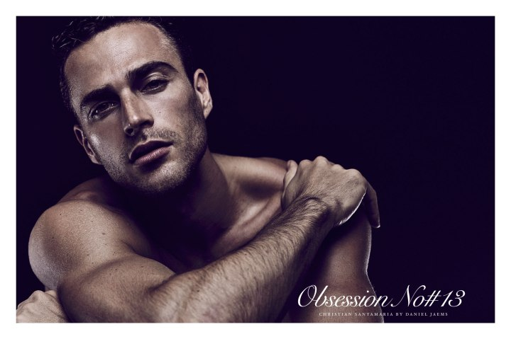 Christian Santamaria is next up in the line of models that pose for the Obsession Series by Daniel Jaems. You might recognise him from the Davidoff Cool Water Night Dive TV and print campaigns! It's definitely a pleasure to capture his smoldering eyes and hypnotic demeanour for this series.
