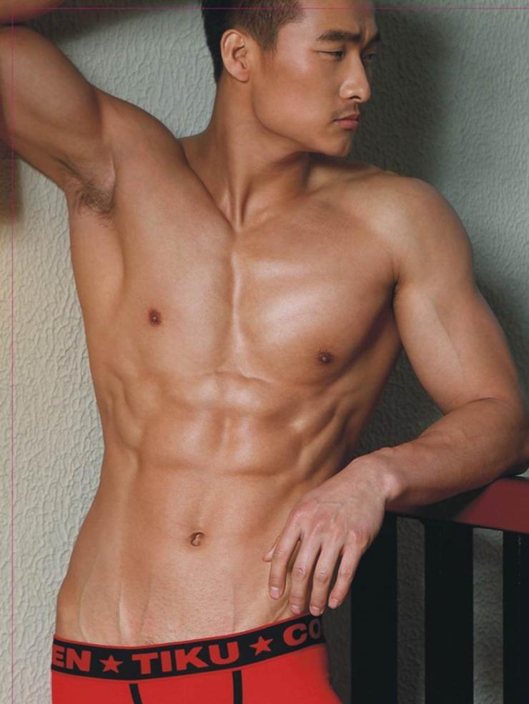 Model azijskega studenca Jin Xiankui Modno moški-1318