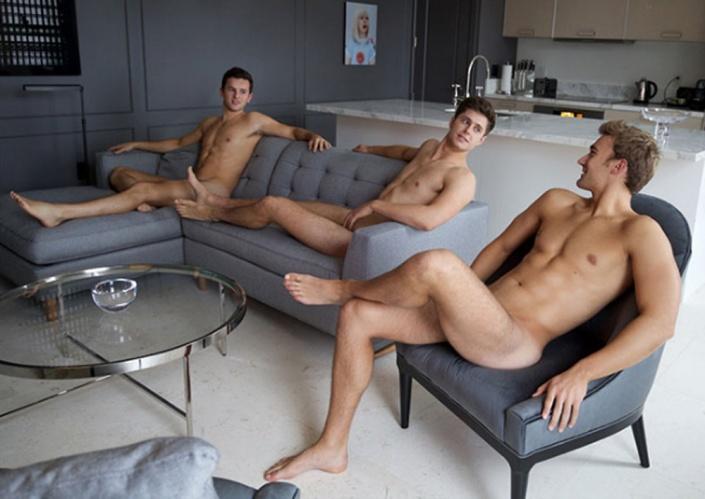 The Warwick Rowers 2016 Nude Calendar539