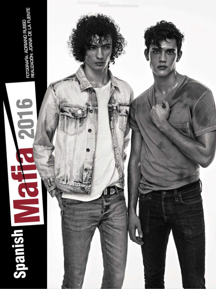 """GQ Spain presents """"Spanish Mafia 2016"""" a work presented by Adriano Russo in the March Issue of this coming number. Starring by Spanish sensation: Adrian Cardoso, Dimytri Lebedyev, Xavier Serrano, Marçal Taberner, River Viiperi, Piero Mendez, Óscar Kindelan and Jaime Ferrandis all styled by talented Joana de la Fuente."""