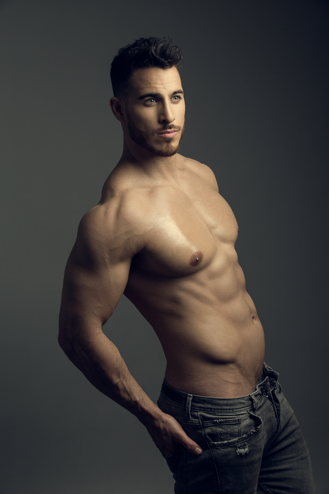Hot male angels man