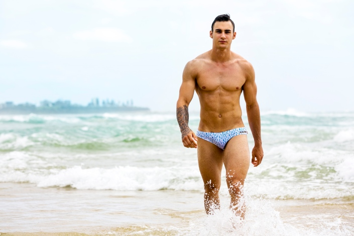Marcuse gives us a showstopping new campaign for their latest swimwear Summer Collection 2016 featuring ravishing model Jai Lee captured by world renown photographer Russell Fleming.
