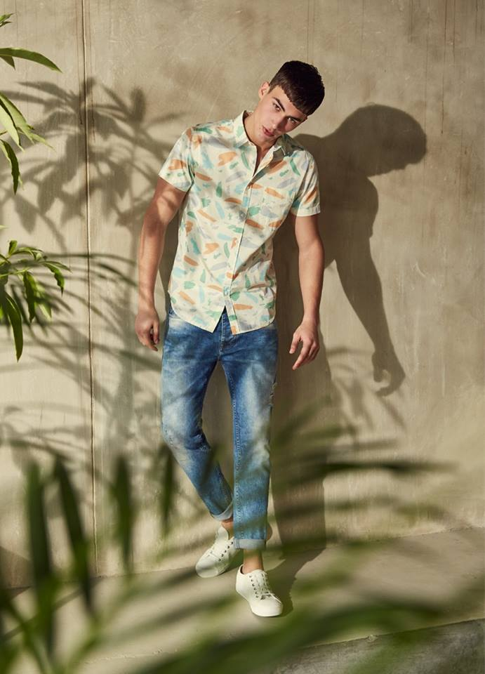 Heading Cape Town Primark releases Spring/Summer 2016 Collection featuring top model Alessio Pozzi.