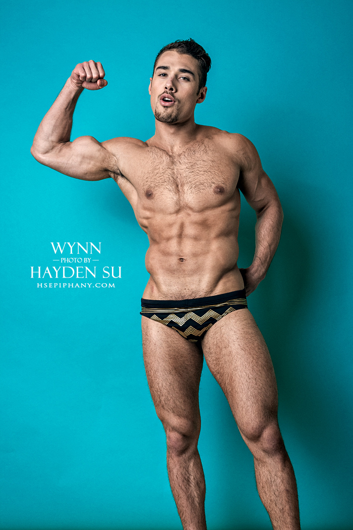 16 images of why Quinton Wynn is one of the best hunks of DNA Magazine. Shot by Hayden Su see why Wynn is modeling so sexy so far that nobody could resist feeling attract to him.