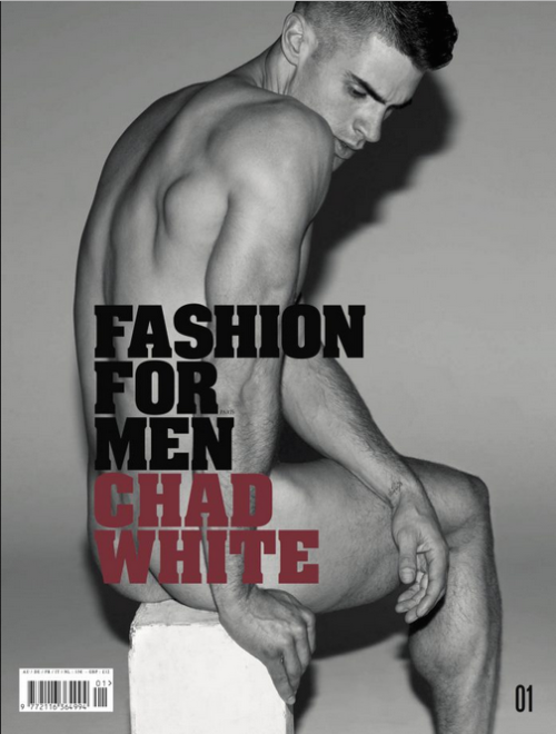 Happily to see new fresh work of Chad White (Soul Artist Management) for Fashion For Men Magazine obviously shot by Milan Vukmirovic.