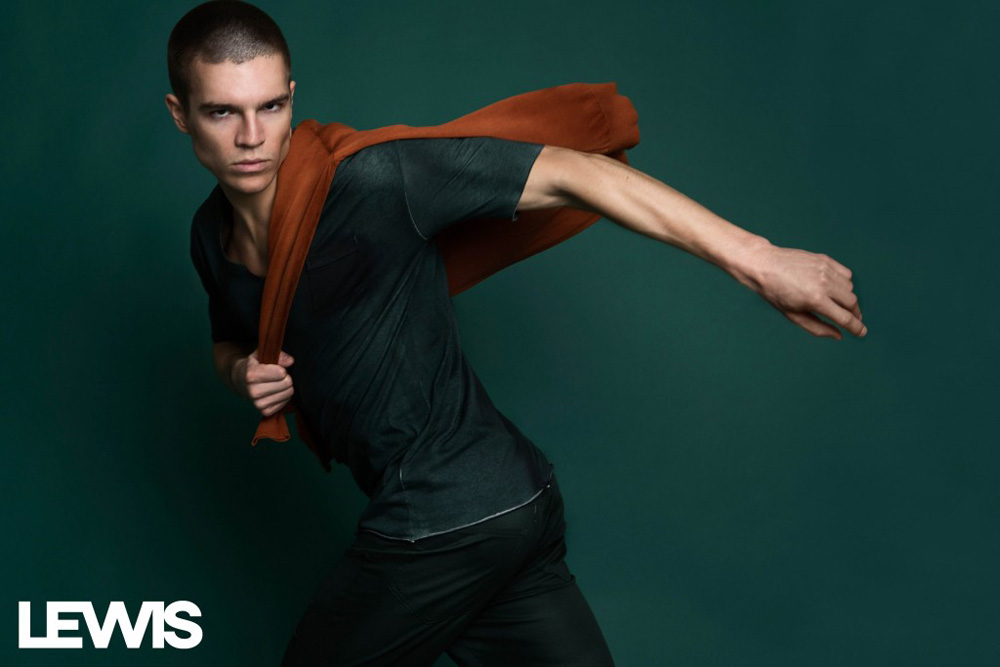 In Motion: Braeden Wright by Lalo Torres for Lewis Magazine