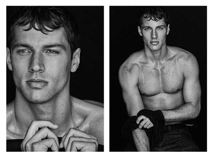 Alessio Pozzi, Mariano Ontanon, Trevor Signorino, Ryan Tift & Kacey Carrig BY An Le FOR H Magazine.