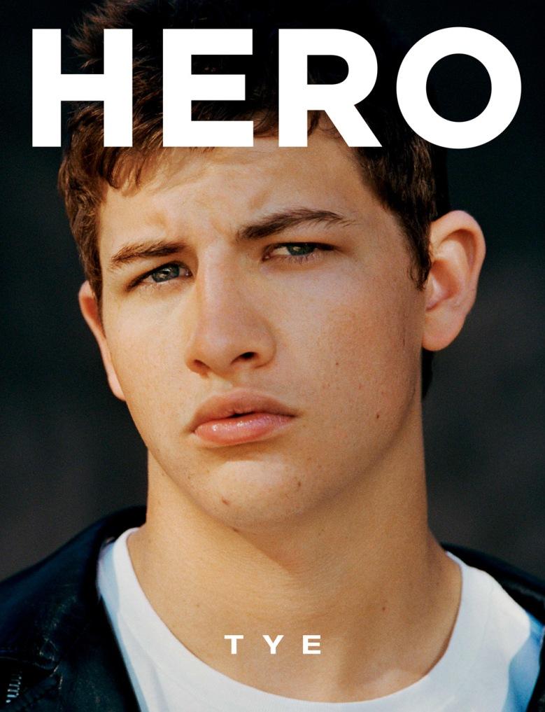 Tye Sheridan for HERO 15