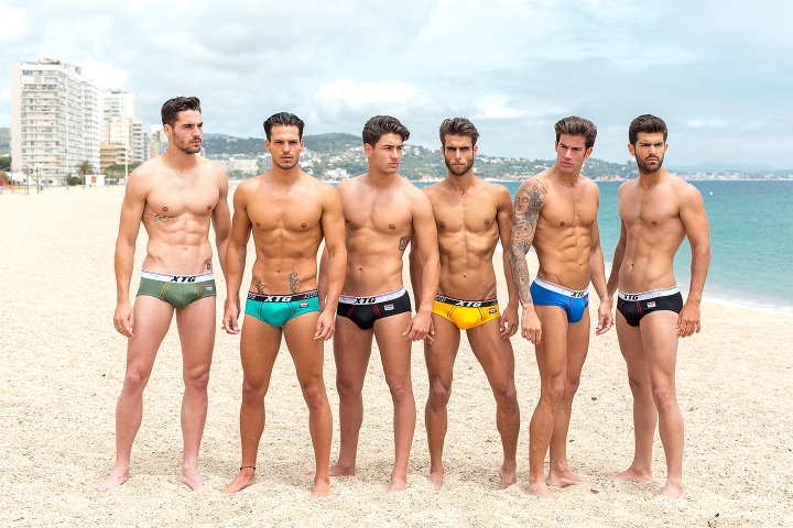 Daniel Rodriguez is the winner for Mister Spain celebrated this May 28th the gorgeous guy is the first openly gay winner in the history of Spain. This shooting is shot by Adrián C. Martín at Platja d'Aro, Costa Brava. Spotted by brand XTG official sponsor.