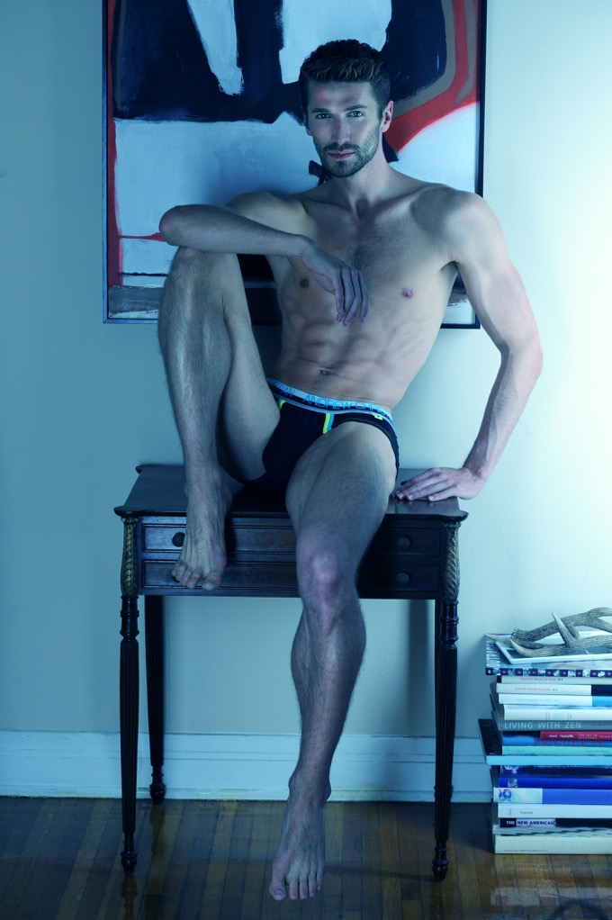 Don't blame to post this kind of sexy af images, blame on model Benjamin Poirier shot by Matthew Mitchell who also did grooming and styling. The thing is to appreciate all his slender beauty.