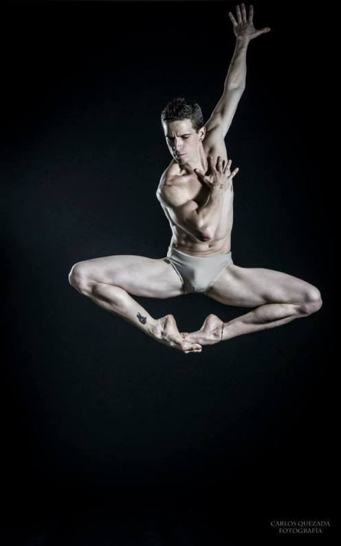 Fabian Morales by Carlos Quezada for The Male Dancer Project