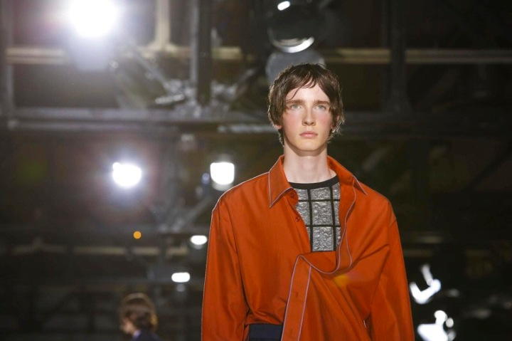 Wooyoungmi, menswear collection spring summer 2017 in Paris