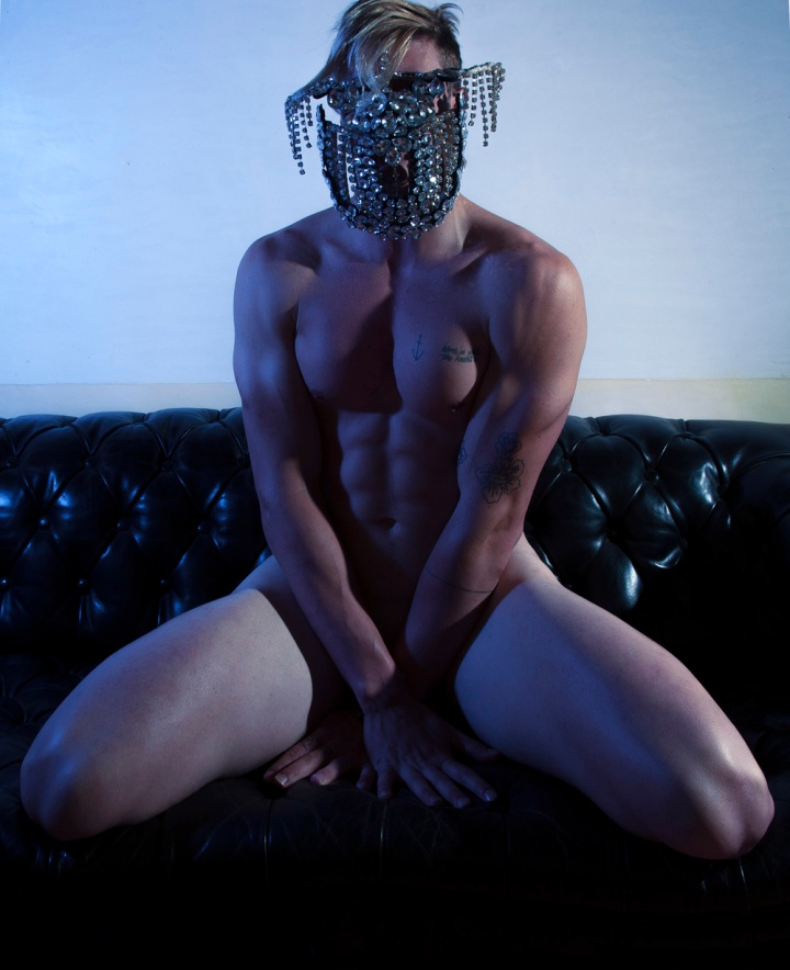 """Possession"" is the new inspired work shot and filmed by photographer Jose Martinez featuring male model Nacho Sanchis playing a demon naked in a Church, could be radical exposing a demon touching himself along in a Church, this doesn't have anything with Religion. This is an artwork."