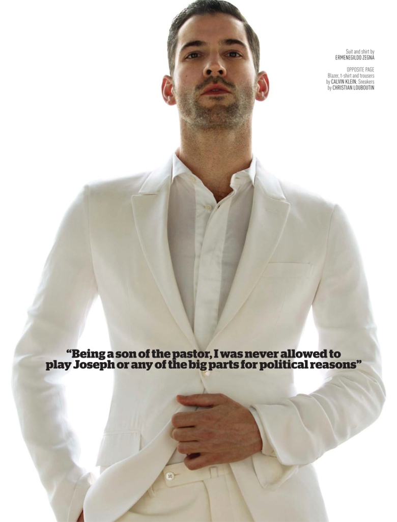 Actor Tom Ellis By Karl Simone For August Man Malaysia