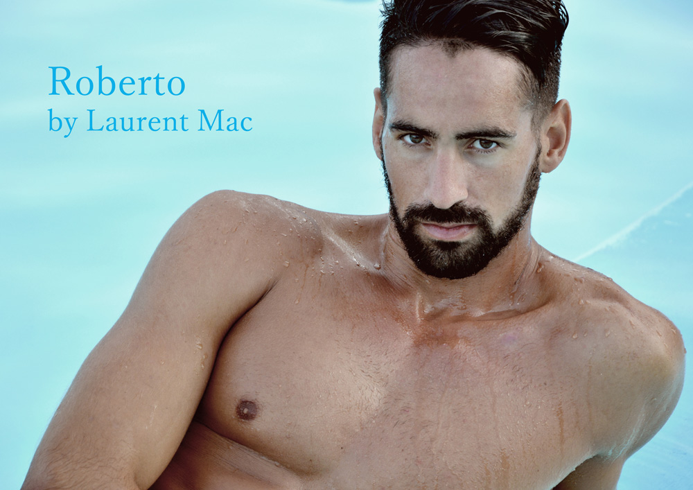 Sharing the best of summer vibes sensation. We still on summer jams, just saying goodbye to summer. Here we have Spanish model Roberto Carlos Rodriguez Canarian Island muse modeling summer pieces for the lens of Laurent Mac.