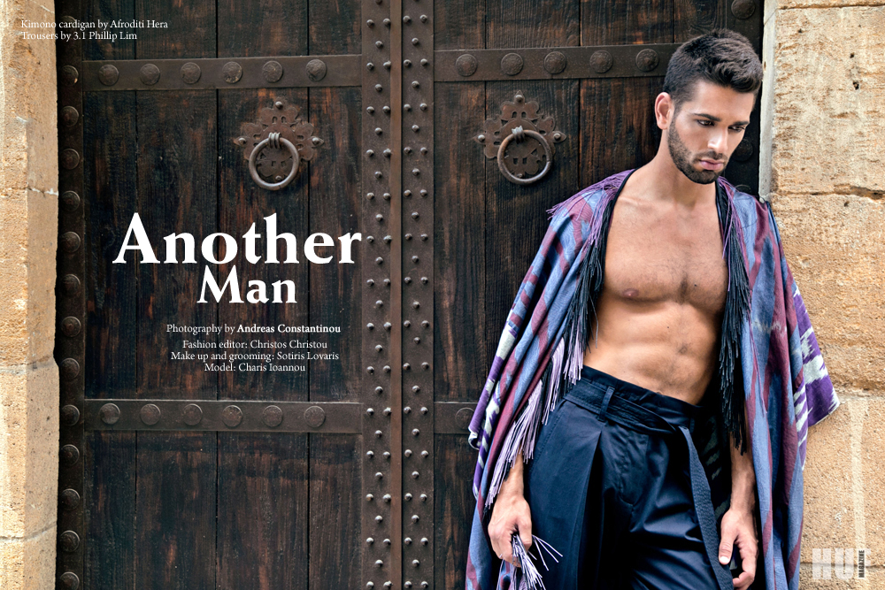 "Photographer Andreas Constantinou gives away to HUF Magazine a new Cyprus theme editorial with model Charis Ioannou in ""Another Man""."