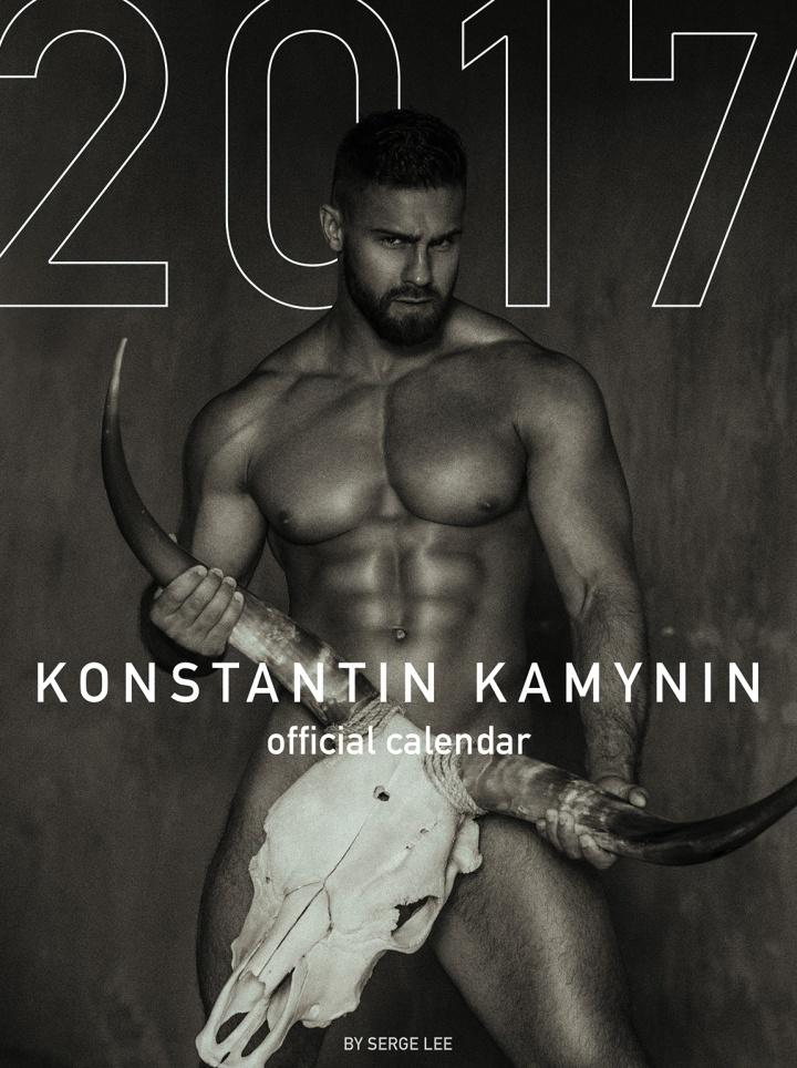 Photographer Serge Lee and fitness hunk model Konstantin Kamynin launched traditional project – Konstantin Kamynin Official 2017 Calendar.