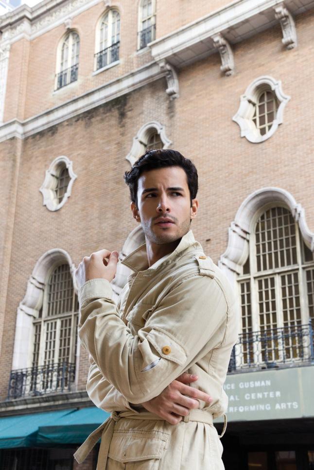 Pretty boy Renato Freitas in Miami by Rubén de Peña