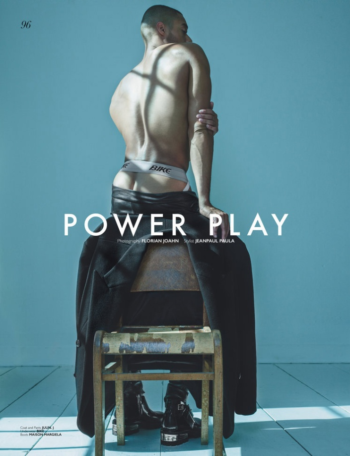 "Joshua Trusty in ""Power Play"" by Florian Joahn for Risk Magazine"