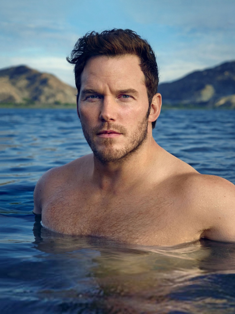 Hunky Chris Pratt gets his cover for Vanity Fair February 2017 Issue shot by Mark Seliger