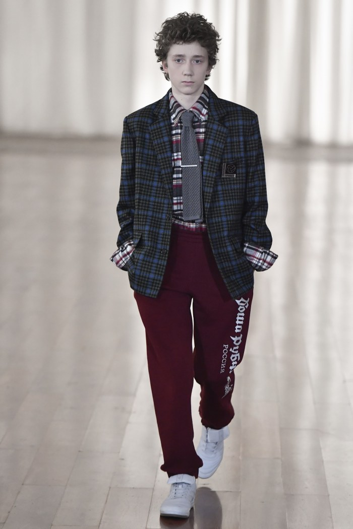 Gosha Rubchinskiy Fall/Winter 2017